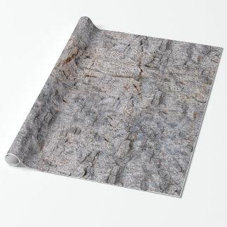 Papier Cadeau Photo d'écorce d'arbre de nature