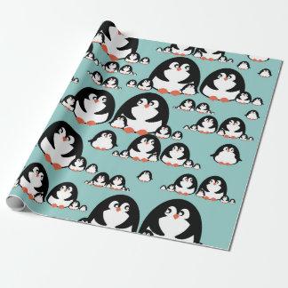 Papier Cadeau Pingouins