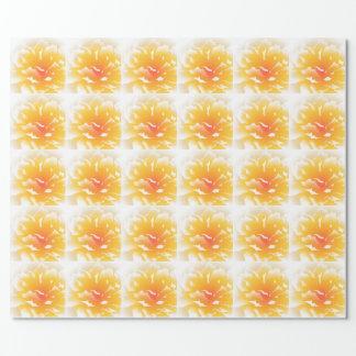 Papier Cadeau Pivoine de coucher du soleil