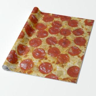 Papier Cadeau Pizza de pepperoni