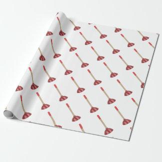 Papier Cadeau Plongeur rouge