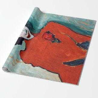 Papier Cadeau Portrait d'Alexej Jawlensky du danseur Aleksandr