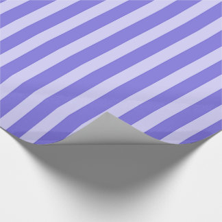 Papier Cadeau Pourpre et rayures de lavande