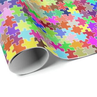 Papier Cadeau Puzzle