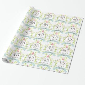 Papier Cadeau quarante-cinquième Enveloppe de cadeau de coeur