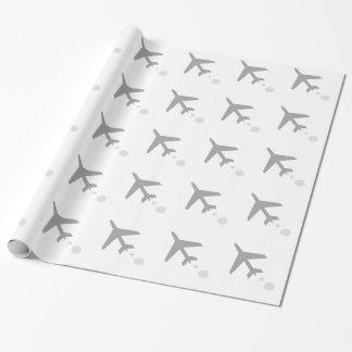 Papier Cadeau quelque chose avion ; avion