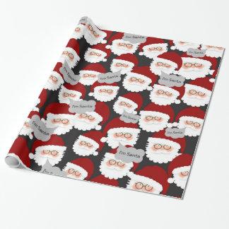 Papier Cadeau Qui est vrai Père Noël ?