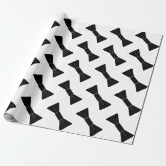 Papier Cadeau Rangées des cravates d'arc