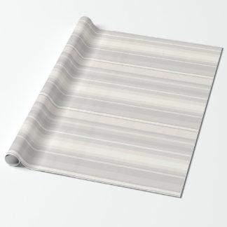 Papier Cadeau Rayures beiges