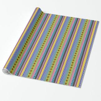 Papier Cadeau Rayures boliviennes