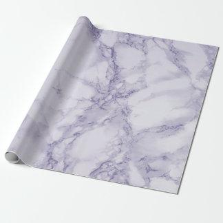 Papier Cadeau Regard de marbre pourpre et blanc de texture