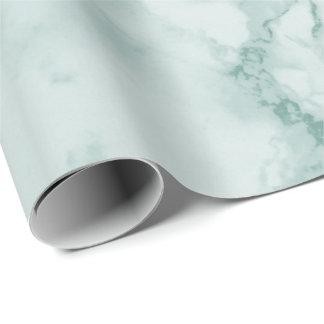Papier Cadeau Regard de marbre turquoise de texture
