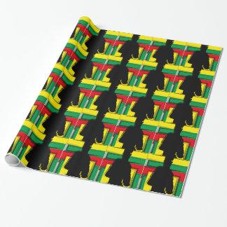 Papier Cadeau Reggae bobo art