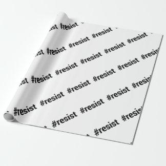 Papier Cadeau Résistez