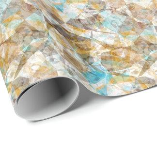 Papier Cadeau Rétro motif de mosaïque moderne génial frais de