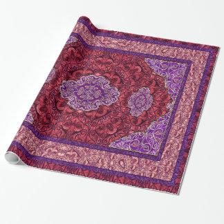 Papier Cadeau Rose persan oriental