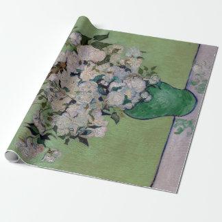 Papier Cadeau Roses de Vincent van Gogh
