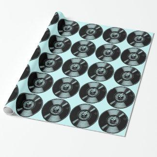 Papier Cadeau Rotation du vinyle