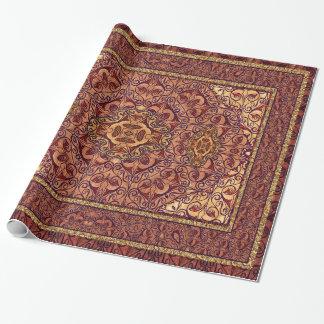 Papier Cadeau Rouge persan oriental