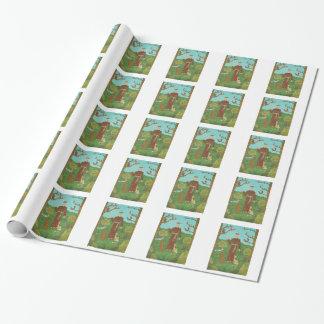 Papier Cadeau Saint Francis d'Assisi