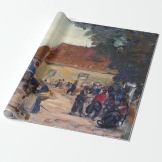 Papier Cadeau Scène de rue de Robert Henri Volendam