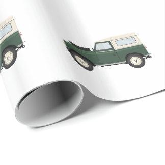 Papier Cadeau Série de papier d'emballage de Land Rover