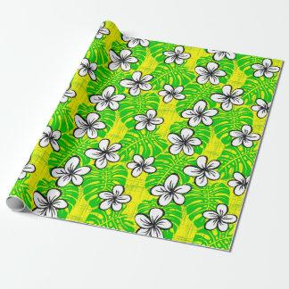 Papier Cadeau Short de panneau de bord du jardin - jaune