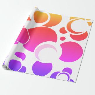 Papier Cadeau Solar Eclipse Cadeaupapier l'arc de pluie