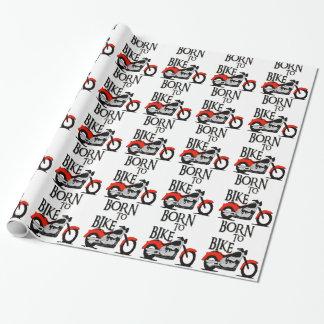 Papier Cadeau Soutenu pour faire du vélo