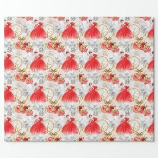Papier Cadeau Stupéfiant, conception de luxe. Enveloppe de