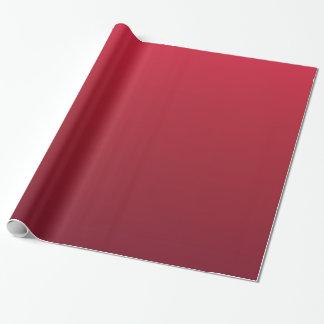 Papier Cadeau Style rouge de tasse de Noël de café d'Ombre
