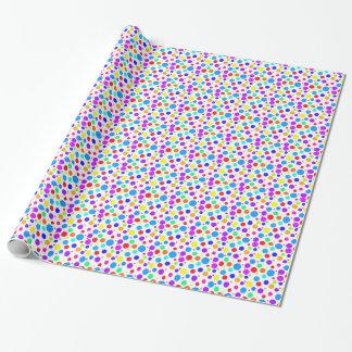 Papier Cadeau Taches colorées assez multi