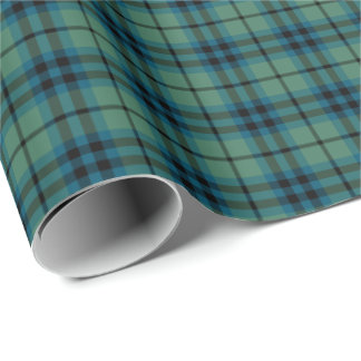 Papier Cadeau Tartan antique de clan de Keith