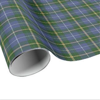 Papier Cadeau tartan bleu de la Nouvelle-Écosse de papier