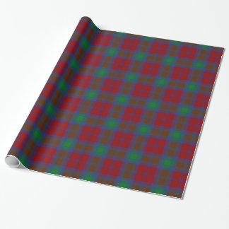 Papier Cadeau Tartan de Lindsay de clan