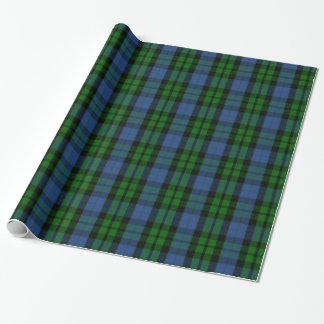 Papier Cadeau Tartan de MacKay de clan