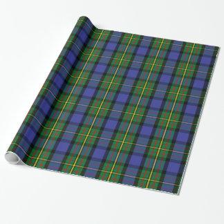 Papier Cadeau Tartan de MacLaren de clan