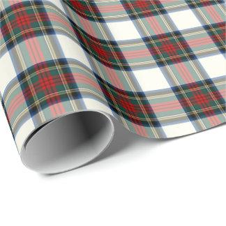 Papier Cadeau Tartan de robe formelle de clan de Stewart