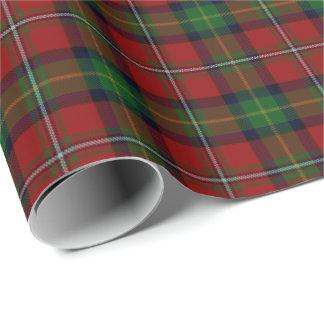 Papier Cadeau Tartan d'écossais de Boyd de clan