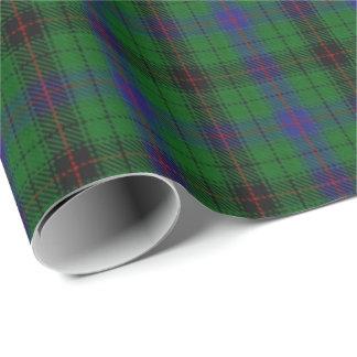 Papier Cadeau Tartan d'écossais de Davidson de clan
