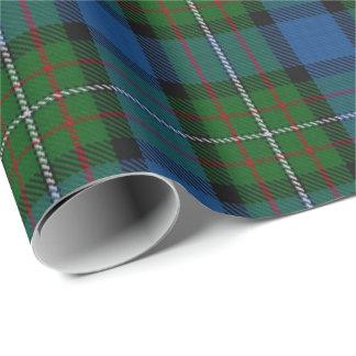 Papier Cadeau Tartan d'écossais de Ferguson Fergusson de clan