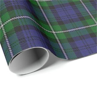 Papier Cadeau Tartan d'écossais de Forbes de clan