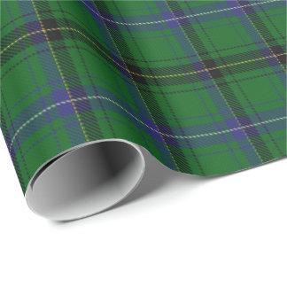Papier Cadeau Tartan d'écossais de Henderson de clan