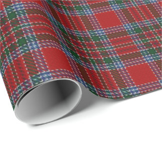 Papier Cadeau Tartan d'écossais de MacBean MacBain de clan