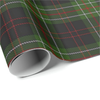 Papier Cadeau Tartan d'écossais de MacDiarmid de clan