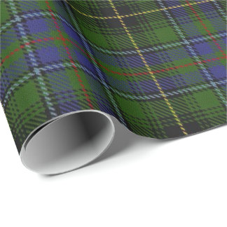 Papier Cadeau Tartan d'écossais de MacInnes de clan