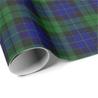 Papier Cadeau Tartan d'écossais de MacKay de clan