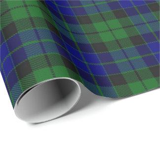 Papier Cadeau Tartan d'écossais de MacKay McKay de clan