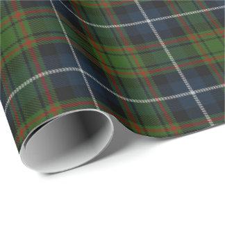 Papier Cadeau Tartan d'écossais de MacRae de clan