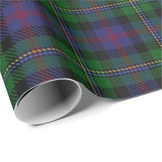 Papier Cadeau Tartan d'écossais de Malcolm de clan